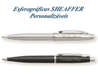 Esferográficas SHEAFFER Metálicas Personalizadas com Gravação Digítal e 2 Modelos à Escolha por 18€. Um presente com personalidade.