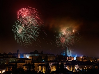 Réveillon no Hotel Oca Puerta del Camino 4*: Estadia em Santiago de Compostela com Jantar de Gala, Bar aberto e Brunch desde 165€. Feliz Ano Novo!