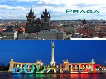 Praga & Budapeste: 4 Noites em 2 das cidades mais bonitas da Europa com Alojamento, Pequeno-Almoço e Voo de Lisboa ou Porto até Março desde 420€.