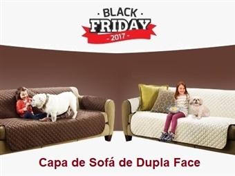 BLACK FRIDAY: Capa de Sofá Dupla Face (Castanho e Bege) desde 20€. Ideal para quem tem Crianças e ou Animais. ENVIO: 48H. PORTES INCLUIDOS.