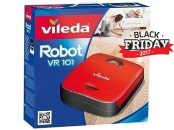 BLACK FRIDAY: Robot Aspirador VR101 da VILEDA por 99€. Ajuda a manter a Casa Limpa sem esforço. VER VIDEO. ENVIO: 48H. PORTES INCLUIDOS.