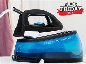 BLACK FRIDAY: Ferro de Engomar a Vapor na Vertical ou Horizontal com Caldeira de 2400W por 46.50€. Para roupas sempre impecáveis! PORTES INCLUÍDOS.