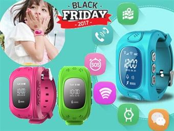 BLACK FRIDAY: Smartwatch GPS com 3 Cores à Escolha por 32€. Relógio-localizador de segurança para monitorizar e comunicar. PORTES INCLUÍDOS.