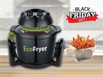 BLACK FRIDAY: Fritadeira Ecológica sem Óleo de 1000W para 5L por 43.90€. Cozinhe 3 vezes mais rápido e poupe mais de 60% em energia. PORTES INCLUÍDOS.