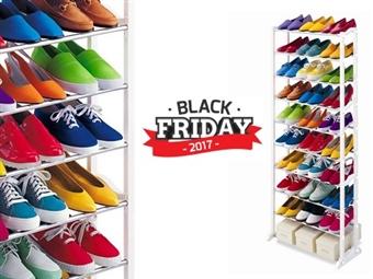 BLACK FRIDAY: Sapateira que pode conter até 30 Pares de Sapatos. A solução ideal para sua casa. 1 por 15€ ou 2 por 25€. PORTES INCLUIDOS.