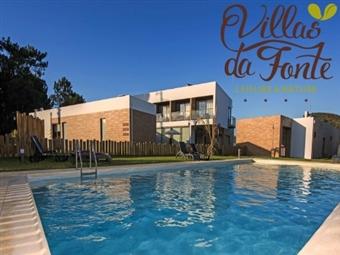 Villas da Fonte – Leisure & Nature 4*: Estadia em Leiria com Welcome Drink, Pequeno-Almoço, Jacuzzi e Bicicletas por 35€. Desfrute da Natureza.