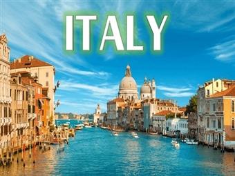 Itália Clássica | Circuito Tudo Incluído: 10 Cidades em 8 Dias. Voos TAP e Alojamento 4* com 20 Refeições, Transferes e 12 Visitas desde 1820€.