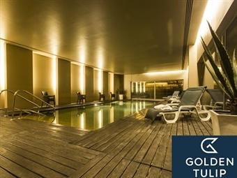 Golden Tulip São João da Madeira Hotel: 1 a 3 Noites com Pequeno-almoço e Jantar desde 31€. Venha relaxar e aproveite o património cultural.
