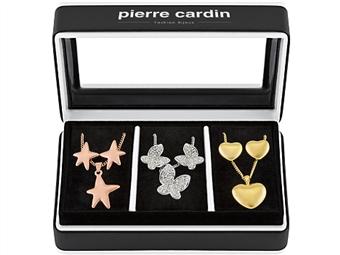 Conjunto Pierre Cardin PXX6886 com 3 Colares e 3 Pares de Brincos por 27€. ENTREGA: 48H. PORTES INCLUÍDOS.