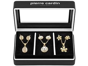 Conjunto Pierre Cardin Triple Dream Gold & Silver com 3 Colares e 3 Pares de Brincos por 27€. ENVIO IMEDIATO e PORTES INCLUÍDOS.