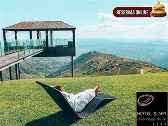 Hotel & Spa Alfândega da Fé 4*: 2 Noites com pequeno-almoço e SPA. Uma experiência  inesquecível por 66€. Perfeito para uma pausa. RESERVA ONLINE