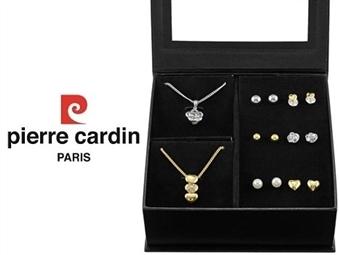 Conjunto Pierre Cardin Heart & Flower com 2 Colares e 6 Pares de Brincos por 27€. ENTREGA: 48H. PORTES INCLUÍDOS.