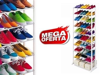 MEGA OFERTA: Sapateira que pode conter até 30 Pares de Sapatos por 13.50€. A solução ideal para sua casa. PORTES INCLUIDOS.