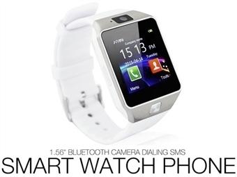 Smartwatch Telemóvel Deluxe com Câmara, Bluetooth, Chamadas, SMS, Micro SIM, MicroSD e USB por 29€. ENVIO IMEDIATO e PORTES INCLUÍDOS.