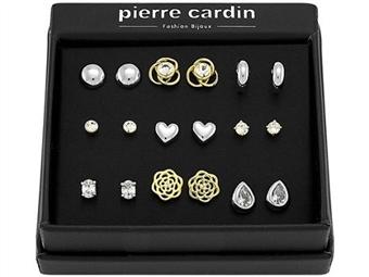 Conjunto Pierre Cardin PJJ0077 com 9 Pares de Brincos por 27€. ENVIO IMEDIATO e PORTES INCLUÍDOS.