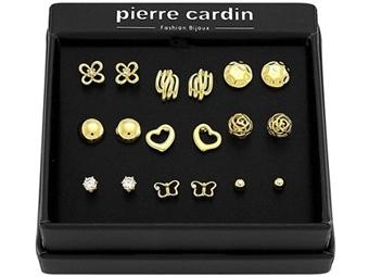Conjunto Pierre Cardin PJJ0078 com 9 Pares de Brincos por 27€. ENTREGA: 48H. PORTES INCLUÍDOS.