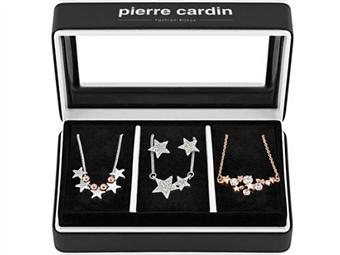 Conjunto Pierre Cardin PXX0204 com 3 Colares e 1 Par de Brincos por 26€. ENVIO IMEDIATO e PORTES INCLUÍDOS.