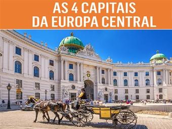 Circuito 4 Capitais da Europa Central: 8 Dias em Hoteis de 4* com TUDO INCLUÍDO, 9 Visitas e Voos de Lisboa por 1635€. Uma Viagem, vários destinos.