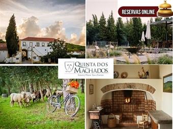 Quinta dos Machados Country House & SPA: Até 3 Noites entre a Tapada e o Mar da Ericeira, com Massagem & SPA desde 39.50€. RESERVA ONLINE