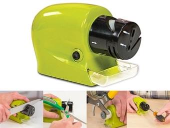 Afiador de Facas Automático sem Fios por 14.50€. Para facas de todos tipos de lâminas, tesouras e ferramentas de precisão. PORTES INCLUÍDOS.