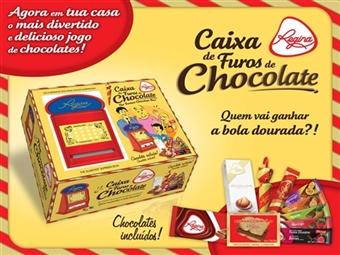 1 ou 2 Caixas de Furos de Chocolates e Gomas da REGINA desde 19€. Para momentos divertidos e perfeitos em família. PORTES INCLUÍDOS.