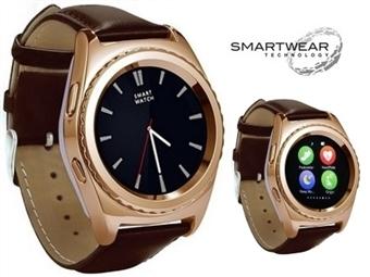 Relógio Telemóvel Inteligente G4 Dourado. SmartWear Technology with Style por 69€. ENVIO IMEDIATO e PORTES INCLUIDOS.