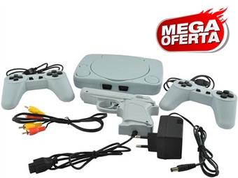 MEGA OFERTA: Consola Retro com 2 Comandos, Pistola e Jogos (Super Mario Bros, F1 Race, Soccer, etc.) desde 19€. PORTES INCLUÍDOS.