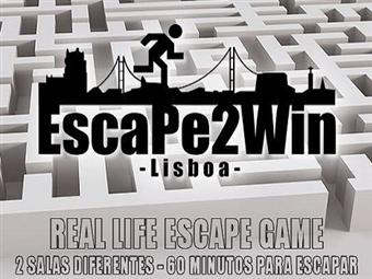 Escape2Win - The Bomb: O Tempo está a contar para resolver este enigma. De 2 a 5 Pessoas por um VALOR ÚNICO de 34.90€ em Lisboa.