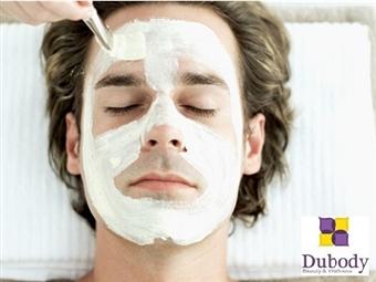 Especial HOMENS: Limpeza de pele profunda por 24.90€ em uma das 4 Clínicas Dubody à sua escolha. Sinta-se bem consigo mesmo!