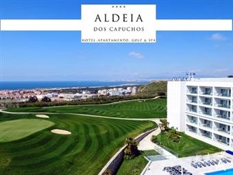 Aldeia dos Capuchos Golf & Spa 4*: Escapada Romântica de 1 Noite com Pequeno-almoço, Jantar e Massagem desde 44.50€. Apaixone-se junto ao mar.