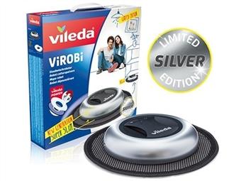 Mopa Robô ViRoBi Super Slim PRATA da Vileda que limpa a casa sozinho sem fios por 39€. ENVIO IMEDIATO e PORTES INCLUIDOS.