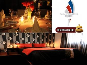 SÃO VALENTIM no Caldas Internacional Hotel: 1 noite com jantar, bebidas incluídas e oferta de espumante nas Caldas da Rainha por 37.50€. RESERVA ONLINE.