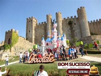 FESTIVAL DO CHOCOLATE ÓBIDOS & Bom Sucesso Resort 5*: Estadia de Luxo para toda a família e Entrada no Festival desde 100€ por Apartamento.