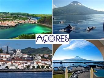 Faial - Açores: Até 4 Noites no Hotel do Canal 4* com Pequeno-Almoço e voos de Lisboa ou Porto desde 191€. Conheça esta maravilha da natureza.