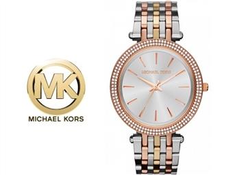 Relógio de Pulso Michael Kors Darci Silver Gold Rose por 153€. Um presente para um amor atemporal. PORTES INCLUÍDOS.