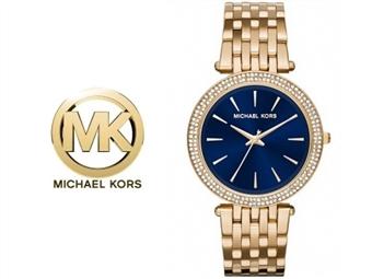 Relógio de Pulso Michael Kors Darci Blue por 135€. Um presente para um amor atemporal. PORTES INCLUÍDOS.