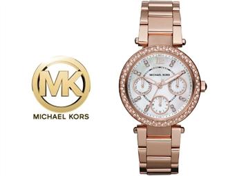 Relógio de Pulso Michael Kors Mini Parker Rose Gold por 135€. Um presente para um amor atemporal. PORTES INCLUÍDOS.