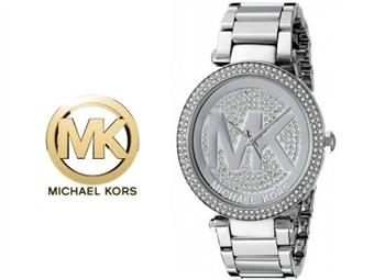 Relógio de Pulso Michael Kors Parker Silver Crystal por 135€. Um presente para um amor atemporal. PORTES INCLUÍDOS.