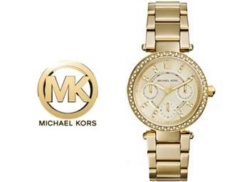 Relógio de Pulso Michael Kors Mini Parker Champagne Glitz por 135€. Um presente para um amor atemporal. PORTES INCLUÍDOS.