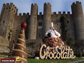 FESTIVAL DO CHOCOLATE & Hotel Água D'Alma: 1 Dia no Festival e 1 ou 2 Noites junto à Lagoa de Óbidos desde 32€. Escapadinha de Sonho!