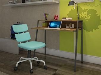 Secretária e Cadeira com 2 Cores à Escolha por 119€. Um local de trabalho com todo o conforto que precisa para sua casa. PORTES INCLUÍDOS.