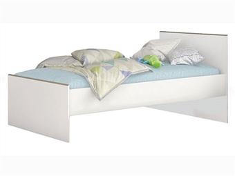 Cama Individual em Branco por 119€. Um design simplista e prático para que possa arrumar tudo o que quiser. PORTES INCLUÍDOS.