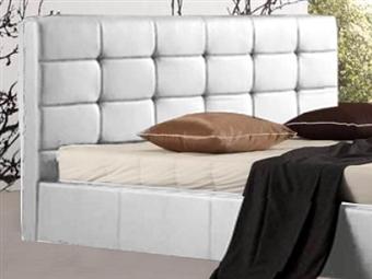 Cabeceira para Cama de Casal em Pele Sintética Branca com 2 Tamanhos à Escolha desde 155€. Um espaço mais acolhedor e moderno. PORTES INCLUÍDOS.