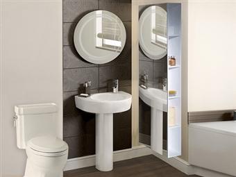 Armário de 1 Porta com Espelho em Branco por 149€. Uma opção harmoniosa para que tenha mais espaço de arrumação em sua casa. PORTES INCLUÍDOS.