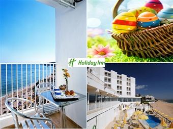 Páscoa no Hotel Holiday Inn Algarve 4*: 2 Noites com pequeno-almoço, Jantar e bebidas por 119€. Rume até Armação de Pêra e divirta-se a sul!