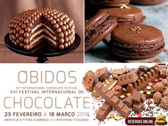 FESTIVAL DO CHOCOLATE em ÓBIDOS & Caldas Internacional Hotel: 1 Dia na Feira e Noite com Meia Pensão para toda a Família desde 27,50€. Como resistir?