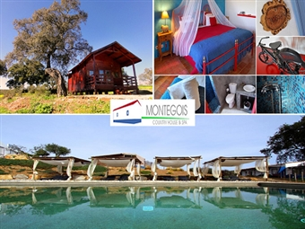 Monte Gois Country House & SPA: 1 ou 2 Noites opção Jantar em Almodôvar, num Monte Tipicamente Alentejano desde 19.99€. Renda-se à Mística e Relaxe!