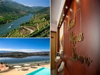 Régua Douro Hotel 4* & Cruzeiro no Douro: 2 Noites com pequeno-almoço e Cruzeiro no Rio Douro com Welcome Drink e Almoço desde 136.50€.