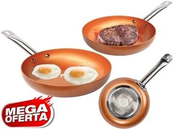 MEGA OFERTA: Frigideira com Revestimento Cobre desde 19€. PORTES INCLUIDOS.