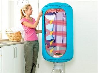 Secador de Roupa Vertical Portátil 360º por 54€. Seca rapidamente até 10 Kg de roupa de uma só vez! Rápido e eficaz. PORTES INCLUÍDOS.